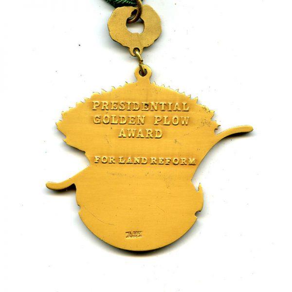 Order of the Golden Plough (Plow) Presidential Award  neck badge (L2928)  N.E.F... 2