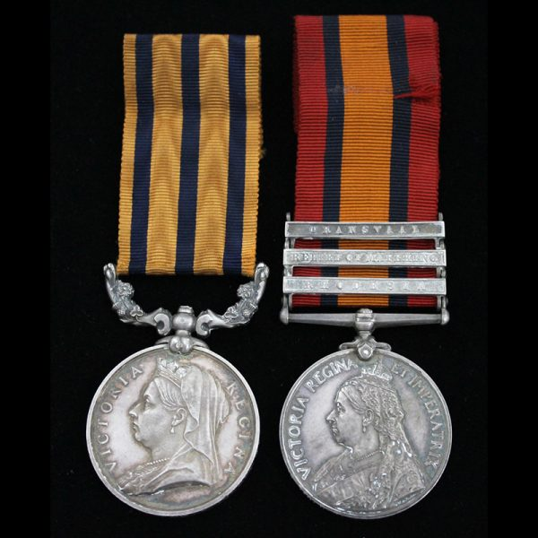 British South Africa Company Medal 1