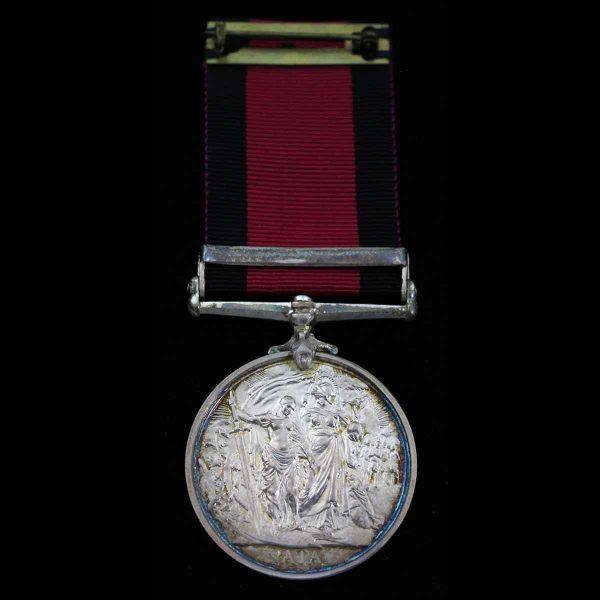 Natal Medal, bar 1906, Natal Police 2