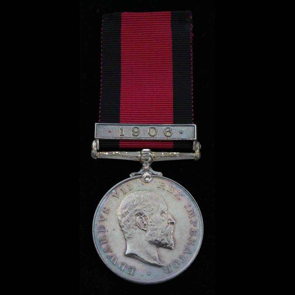 Natal Medal, bar 1906, Natal Police 1