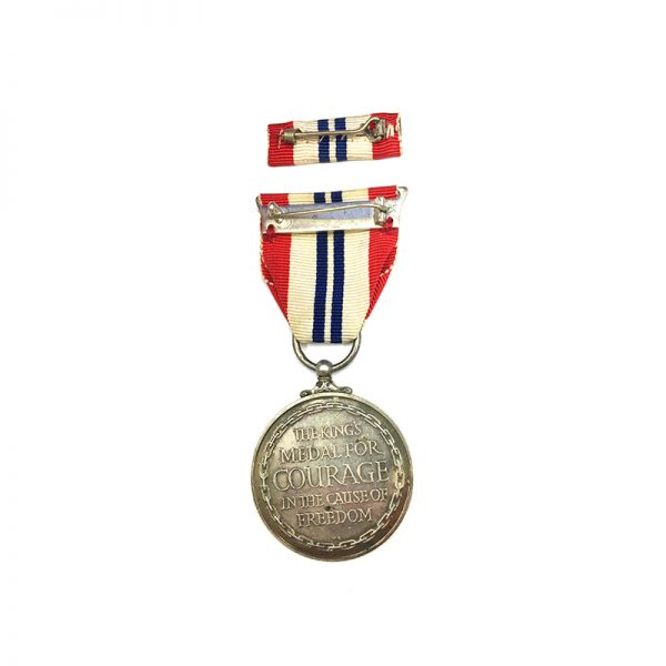 Kings Medal Courage WW2 2