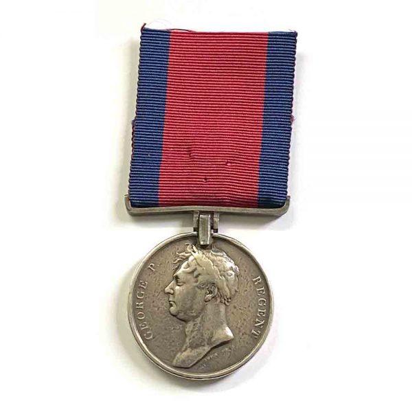 Waterloo Medal 2nd 59th Regt 1