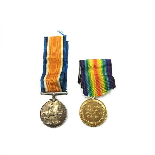 WW1 Pair 2nd Lieut Black Watch KIA 2