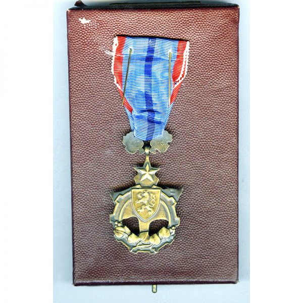 Order of the Flag of Labour with original award book and in... 2