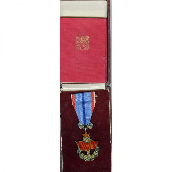 Order of the Flag of Labour with original award book and in... 1