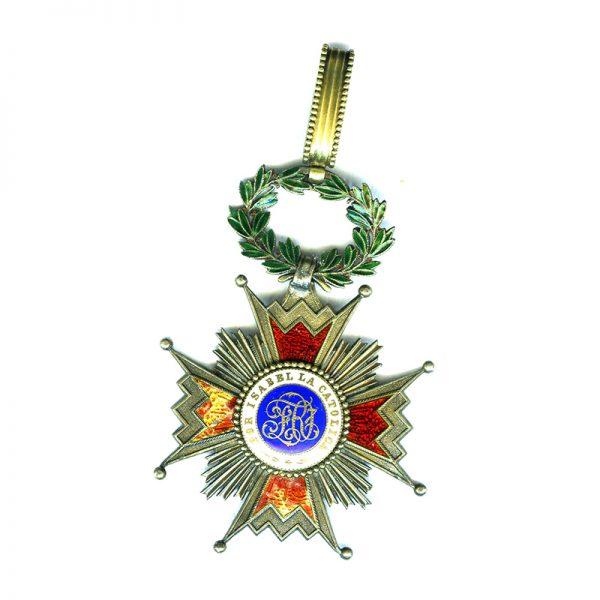Order of Isabella the Catholic  Commander neck badge Kingdom 2