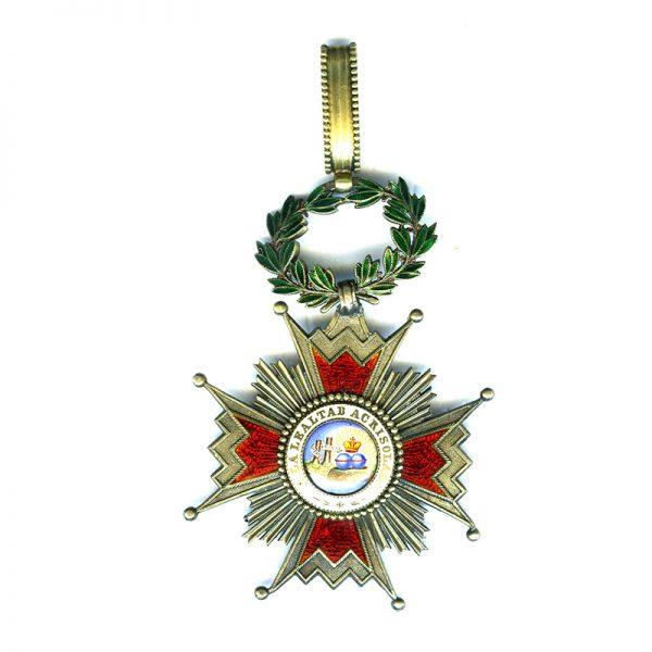 Order of Isabella the Catholic  Commander neck badge Kingdom 1
