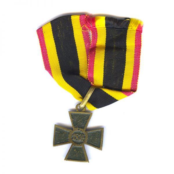 Waterloo  Military merit Cross gilt and bronze 1