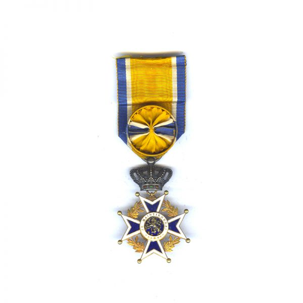 Order of Orange Nassau Officer in gold superb quality 1