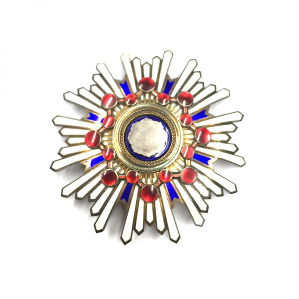 Order of the Sacred Treasure Grand Cross breast star cased 1