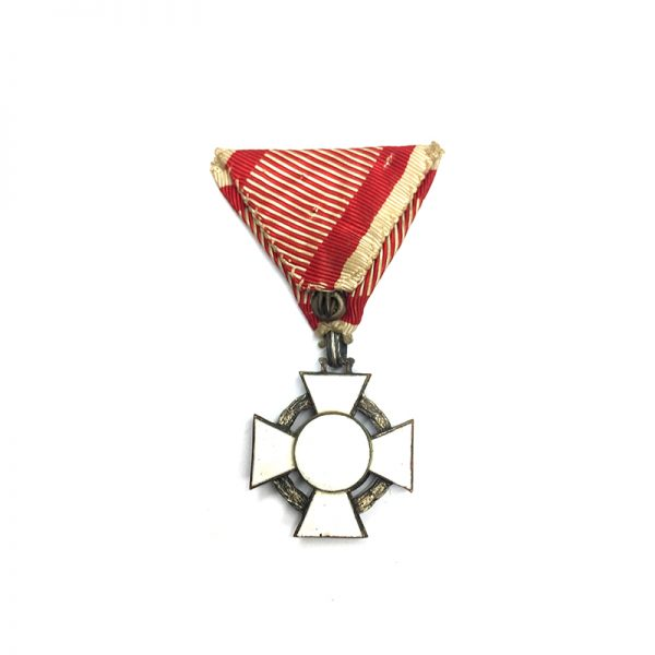 Military Merit Cross  3rd Class with war decoration 2