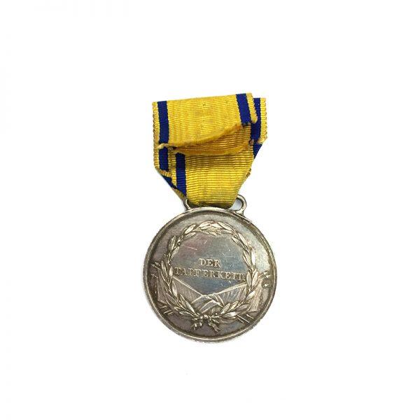 Nassau Waterloo Bravery medal Der Tapferkeit 2