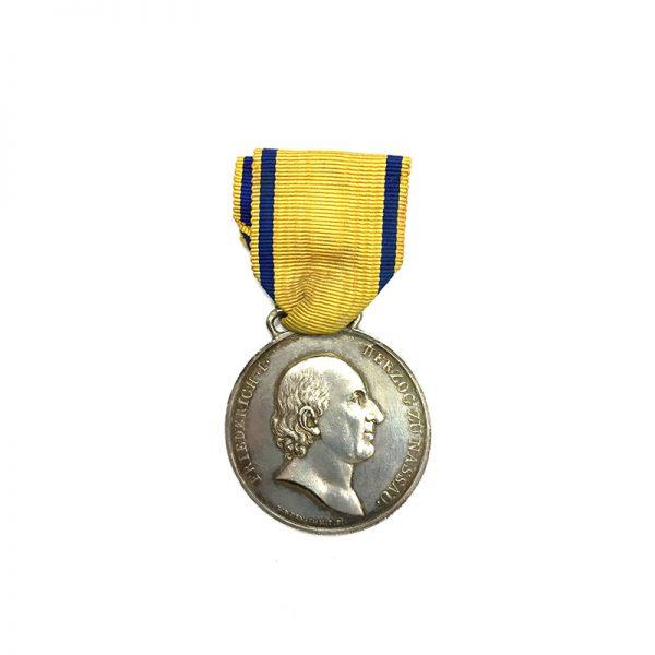 Nassau Waterloo Bravery medal Der Tapferkeit 1