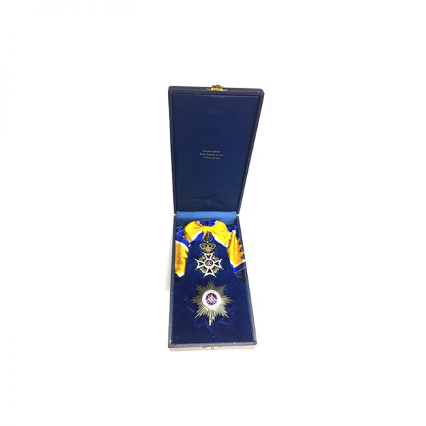 Order of Orange Nassau Grand Cross Set, cased 5