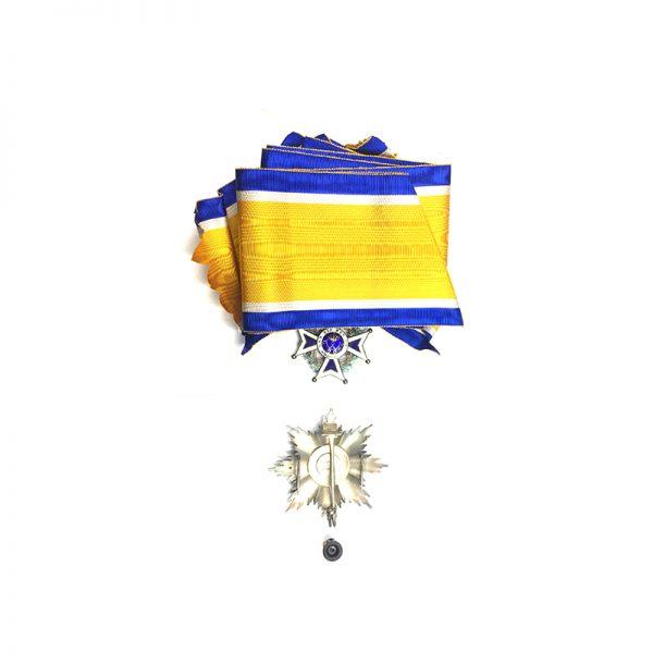 Order of Orange Nassau Grand Cross Set, cased 2