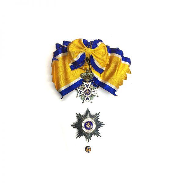 Order of Orange Nassau Grand Cross Set, cased 1