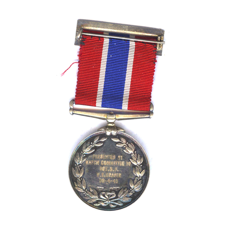 Liverpool City Police Medal Silver 2