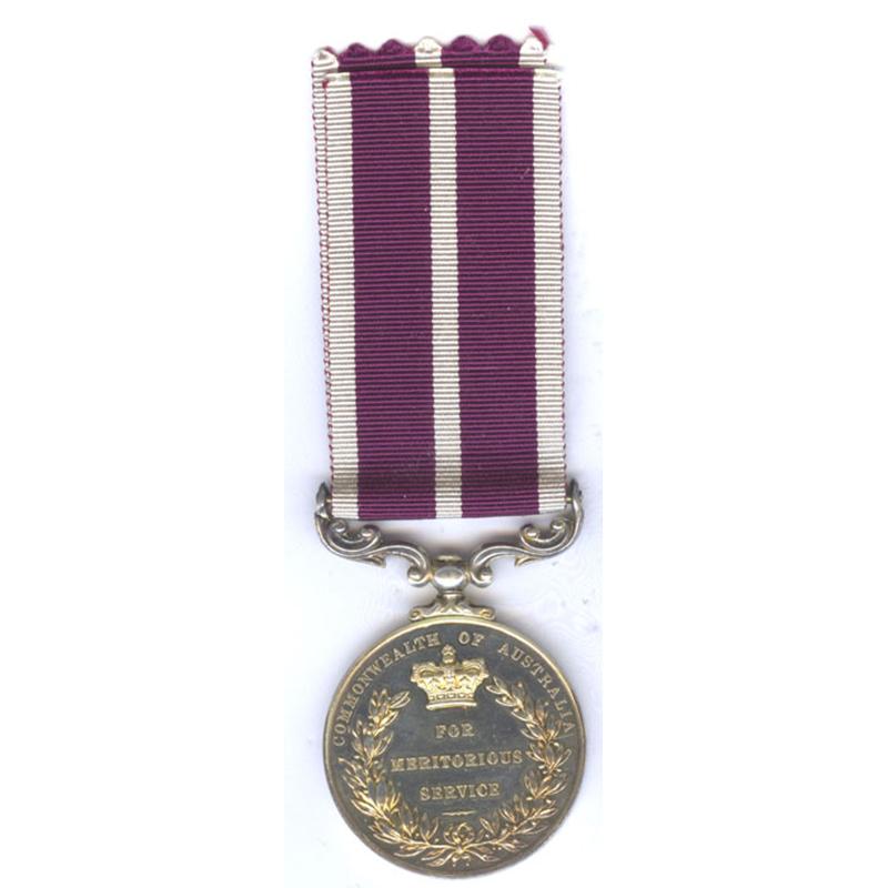 Meritorious Service Medal Australia Issue Rare 2