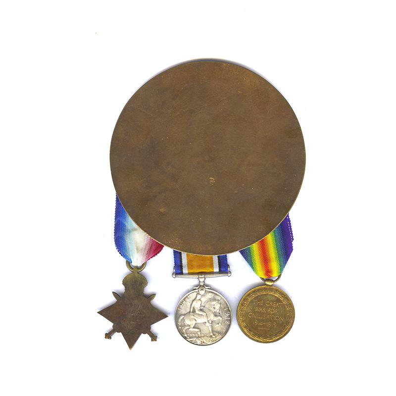 1914-15 Trio Plaque Manchester KIA Gallipoli 2