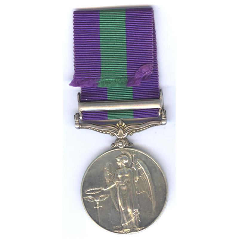 General Service Medal Palestine 1945-48 2