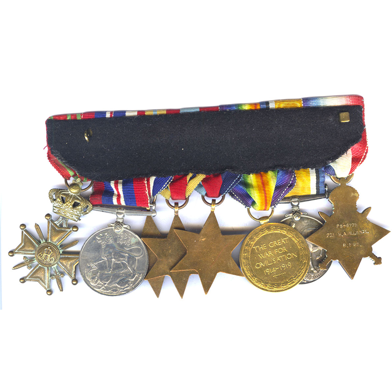 1914-15 Star (Pte R. Fus) 2