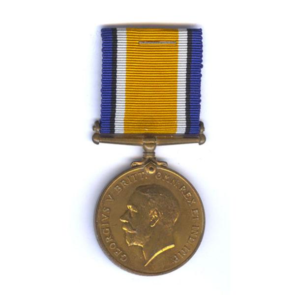Bronze British War Medal 1