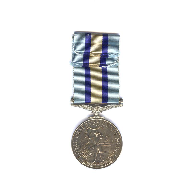 Royal Observer Corps Medal 2