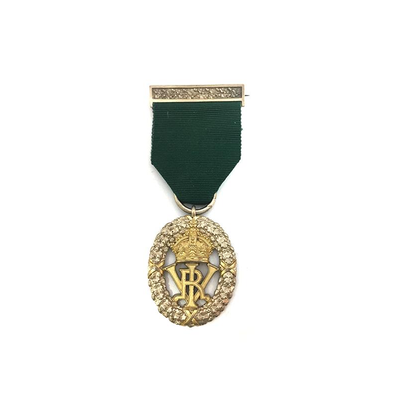 India Volunteer Officer Decoration VRI 1