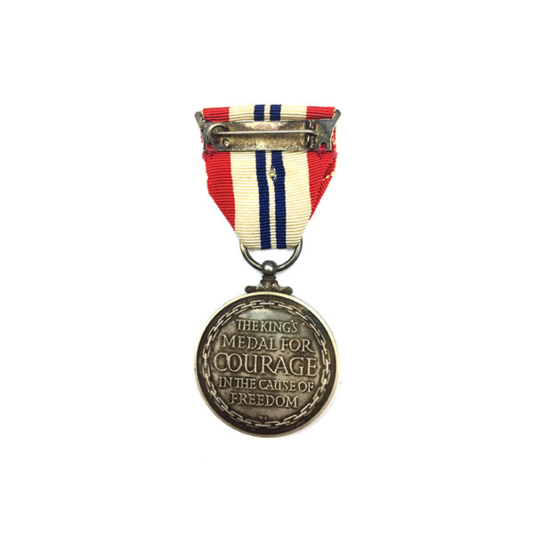 King's Medal for Courage WW2 2