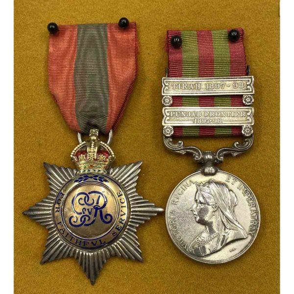 I.S.O. I.G.S. 1895 Inspector CID 3