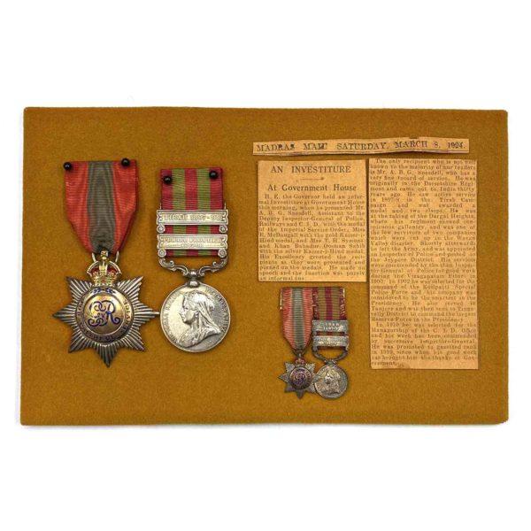 I.S.O. I.G.S. 1895 Inspector CID 1