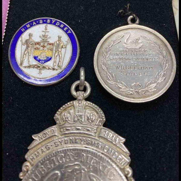 Sydney Emden Medal Group RAN 6
