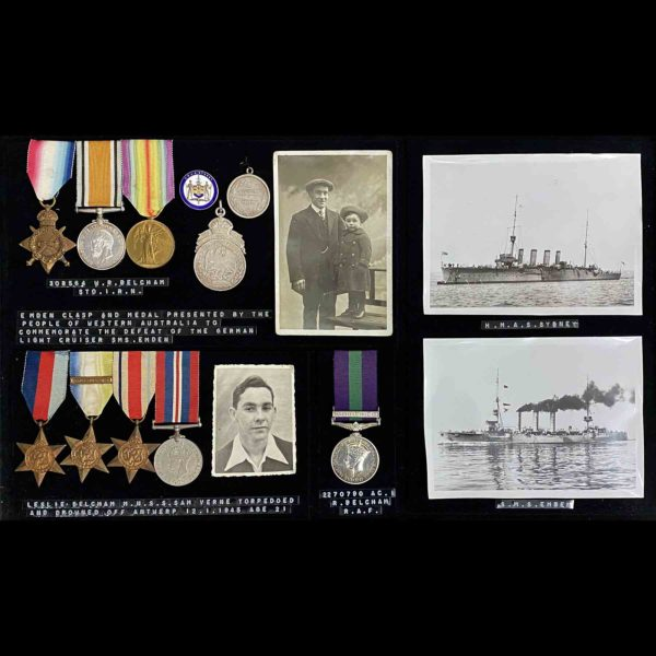 Sydney Emden Medal Group RAN 1
