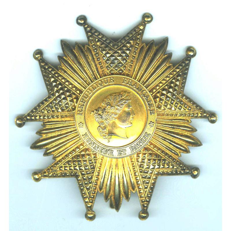 Legion D'Honneur 1951-62 IVth Republic 1