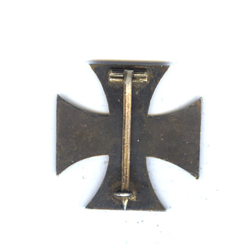 Iron Cross 1914 1st class with original large certificate to Underofficer Schumacher... 2