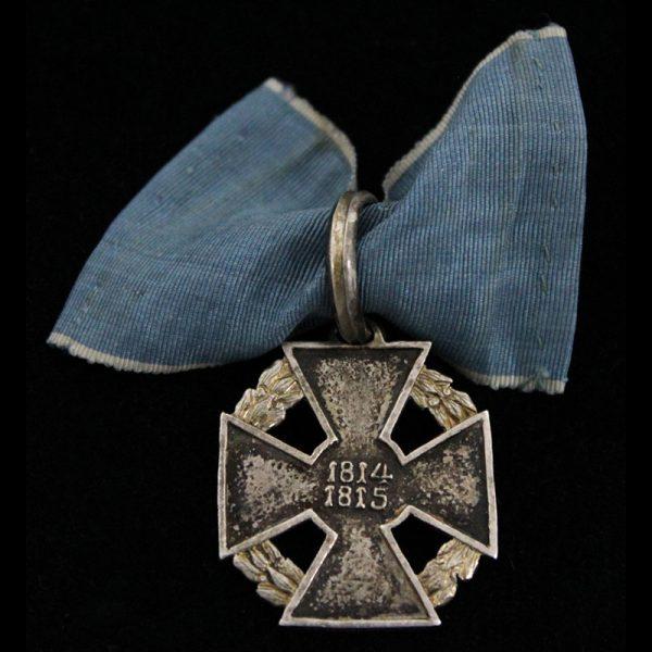 Waterloo War merit cross 1814-1815 1