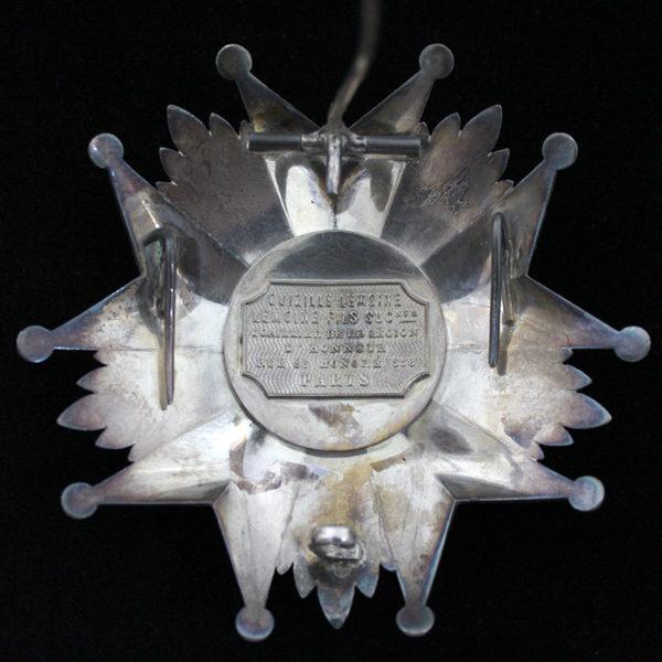 Legion D'Honneur 1870-1951 Grand Officer breast star 2