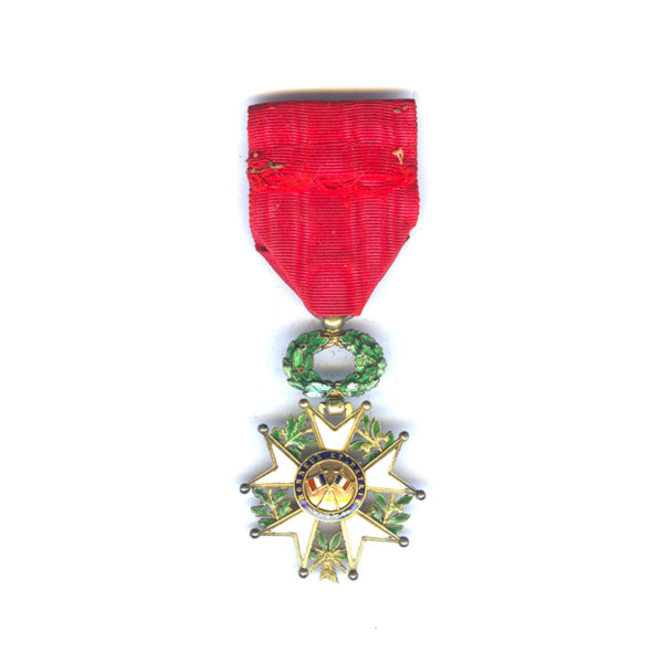 Legion D'Honneur 1870-1951 Officer with deluxe 3 part gold centre in silver... 2