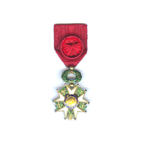 Legion D'Honneur 1870-1951 Officer with deluxe 3 part gold centre in silver... 1