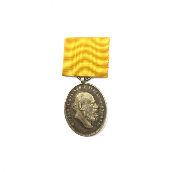 Medal for Zeal and Loyalty 1877 silver for 24 years service 1
