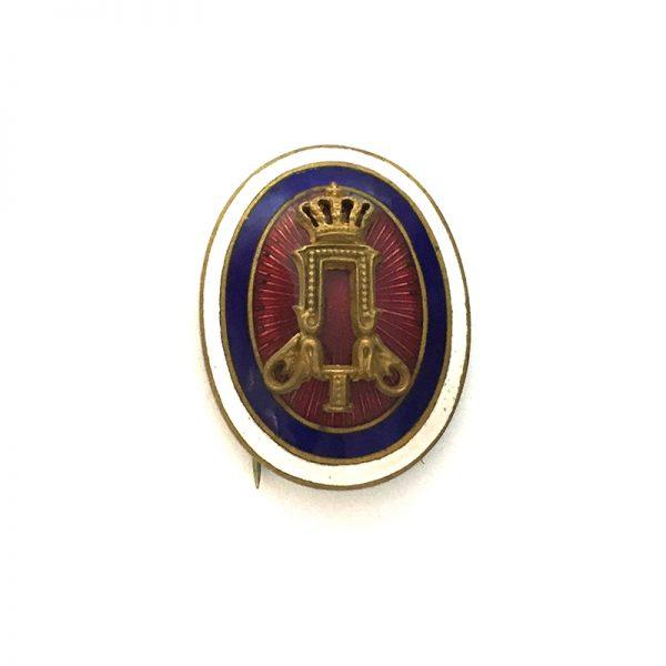 Officers Cockade badge Peter I 1