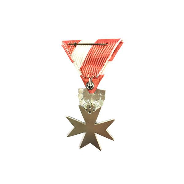 Republic Order of Merit Type II 1952 knight silver 2