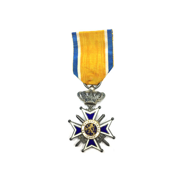 Order of Orange Nassau Knight Military with Swords 1