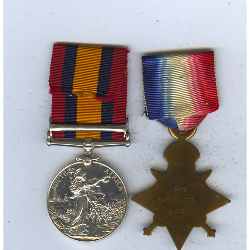 QSA 1914 Star Coldstream Guards 2