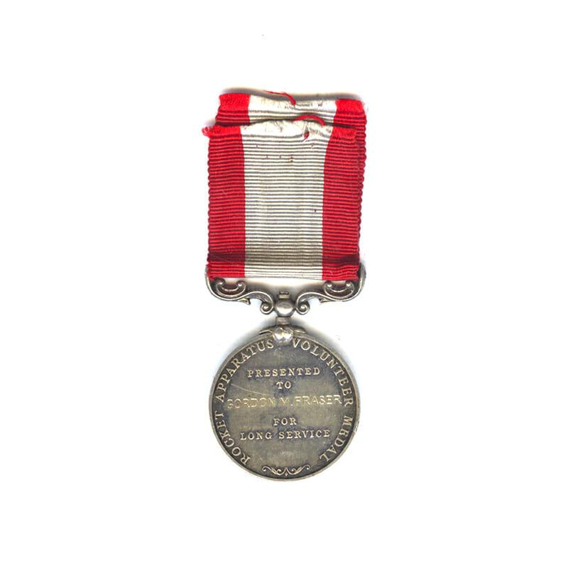 Rocket Apparatus Volunteer Medal for Long Service 2