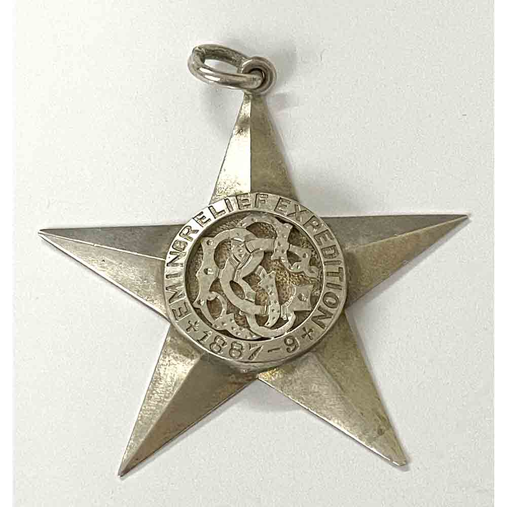 Emin Relief Expedition Star 1887-9 1