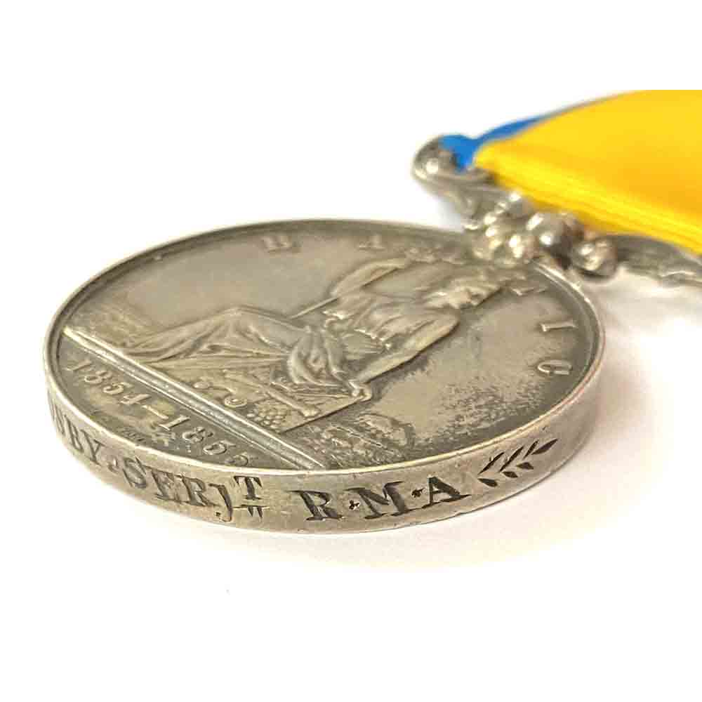 Baltic Medal Sergt Royal Marines 4