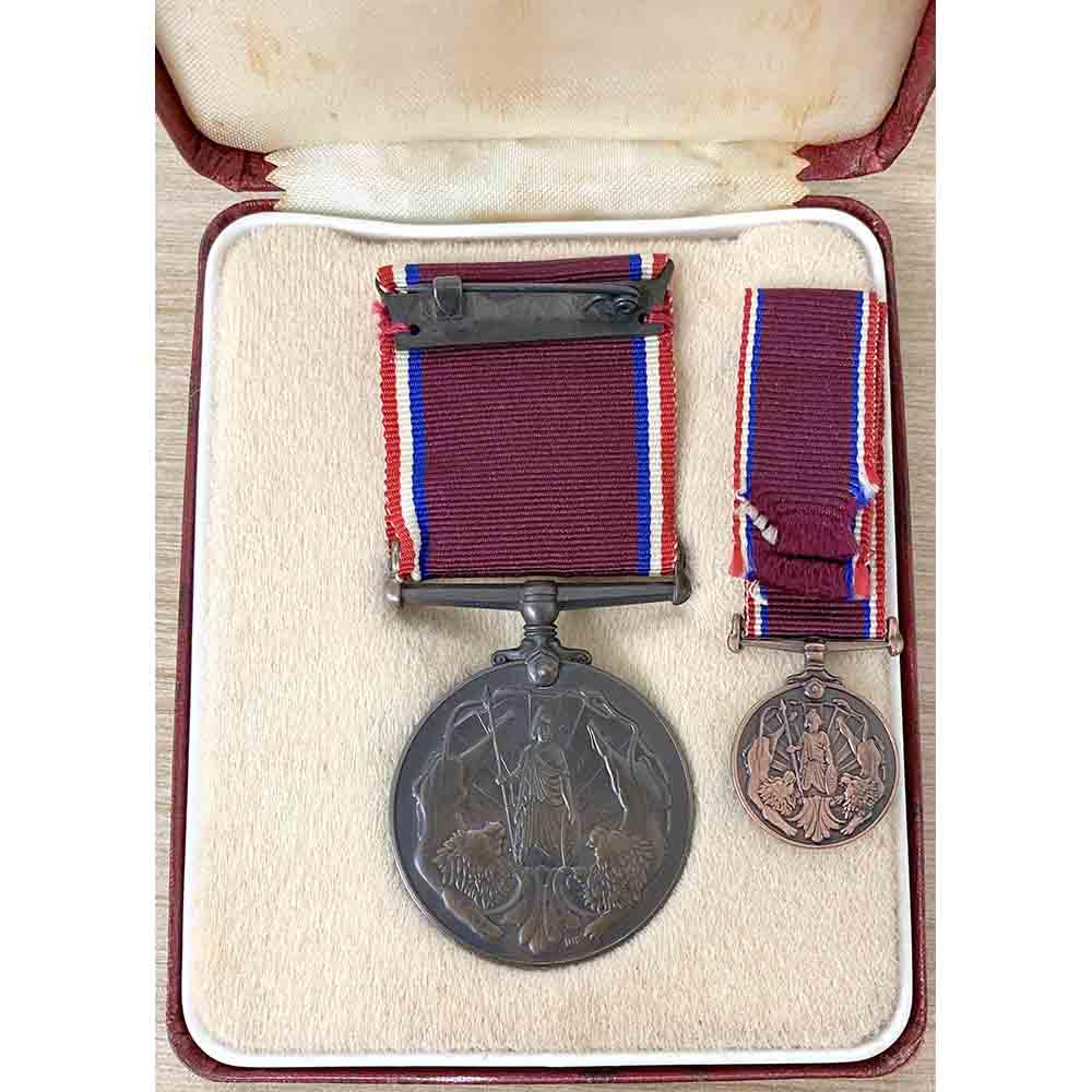 Newfoundland Volunteer Service Medal WW2 2