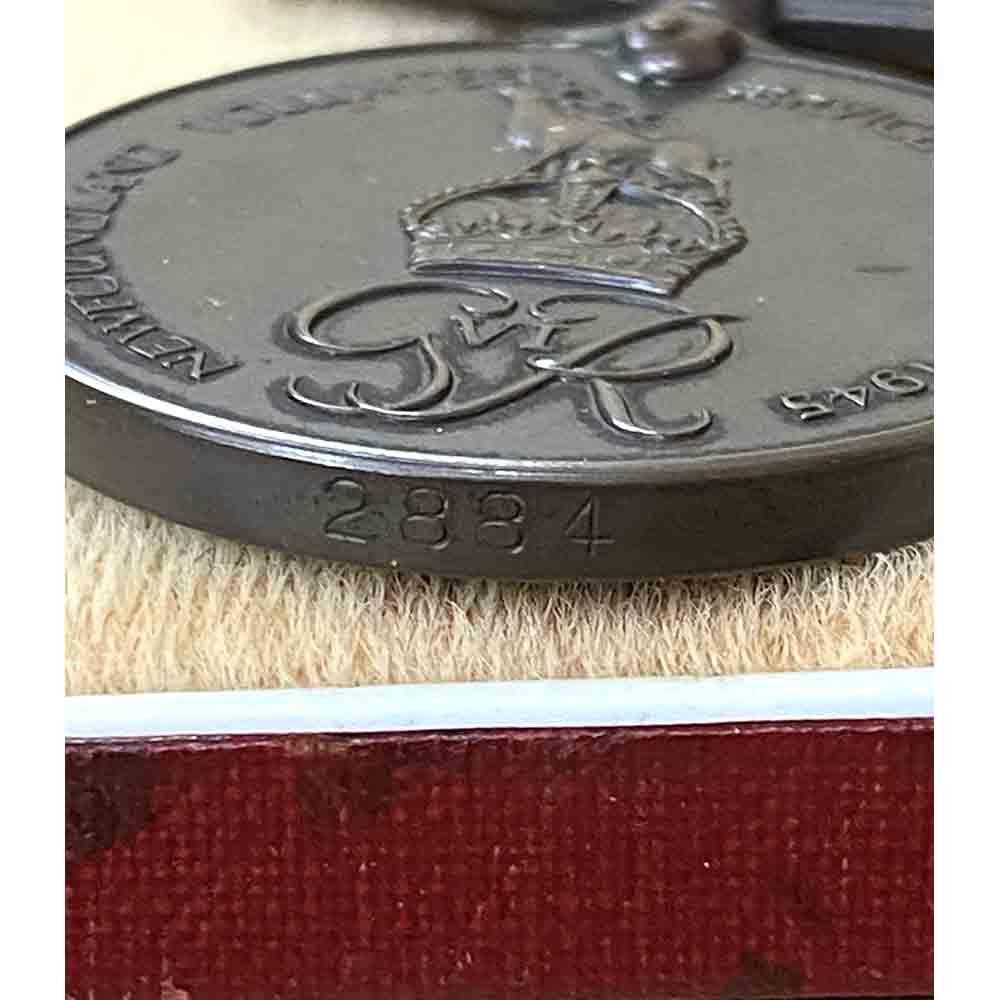 Newfoundland Volunteer Service Medal WW2 4