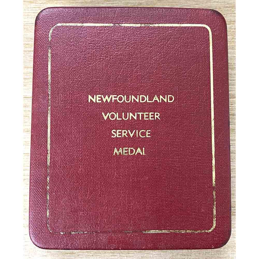 Newfoundland Volunteer Service Medal WW2 3